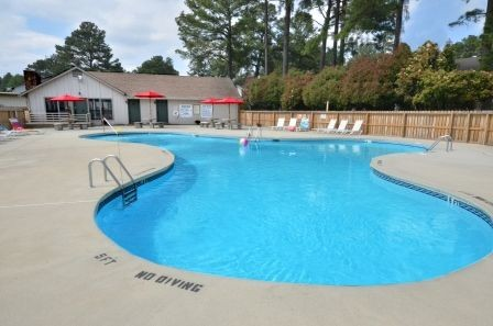 Our North Fayetteville NC Apartments Offer Great Community Features Including a Swimming Pool with Covered Cabana