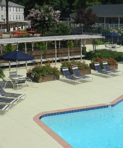 Swimming Pool at Arbors Apartments Near Greensboro
