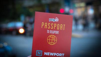 Yelp Passport to Newport
