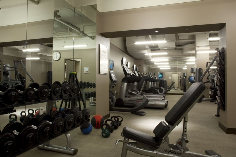 Fitness Center with Cardio equipments and weights