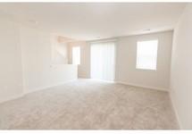 living room floor, light colored beige carpet