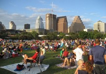 Green space in Downtown Austin
