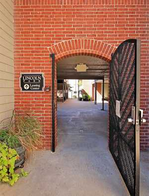 Entry gate. Click to view all amenities.