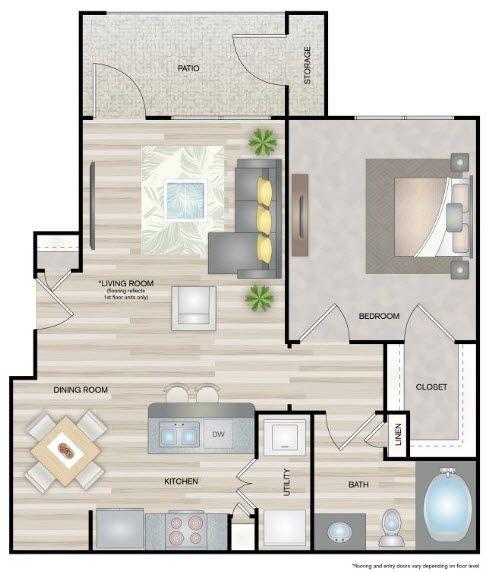 1 bedroom apartment mcallen mirabella apartments nolana ccuart Choice Image