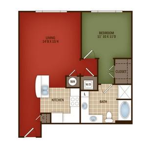 Layout of L2 floor plan.