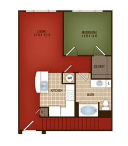 Layout of L3 floor plan.