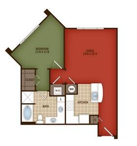 Layout of L4 floor plan.