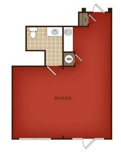 Layout of W3 floor plan.