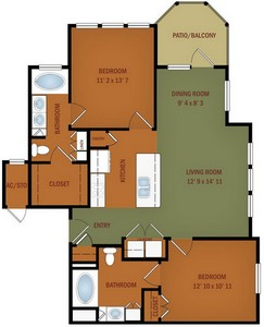 Layout of B5 Grande Casa floor plan.