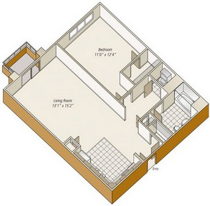 Layout of A31 floor plan.
