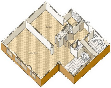 Layout of A37 floor plan.
