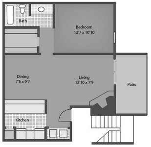 Layout of DuJoir floor plan.