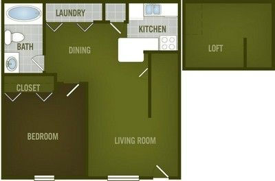 Layout of Landa floor plan.