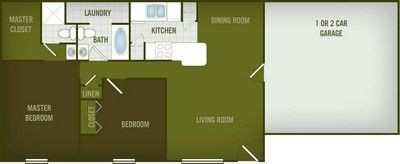Layout of Guadalupe floor plan.