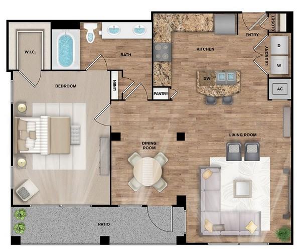 Superb Canterbury Floor Plans 1 Bedroom Apartments Bryan Tx Download Free Architecture Designs Oxytwazosbritishbridgeorg