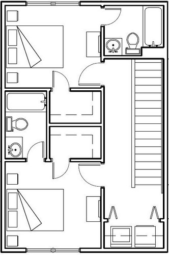 Upstairs Floorplan Image