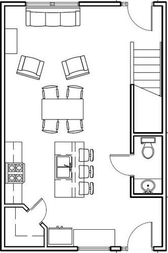 Downstairs Floorplan Image