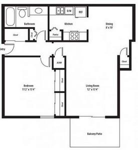 Layout of Hartford Classic floor plan.
