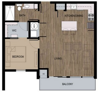 Layout of Dylan floor plan.