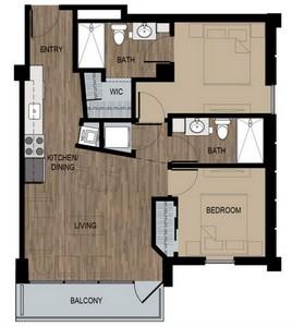 Layout of Doors floor plan.