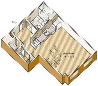 Layout of S22 floor plan.