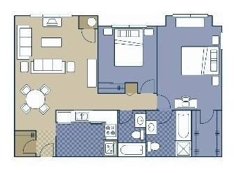 Layout of Chesterfield floor plan.
