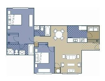 Layout of Jewell floor plan.
