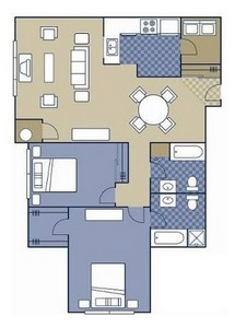 Layout of Kennett floor plan.