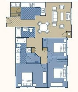 Layout of Englander floor plan.