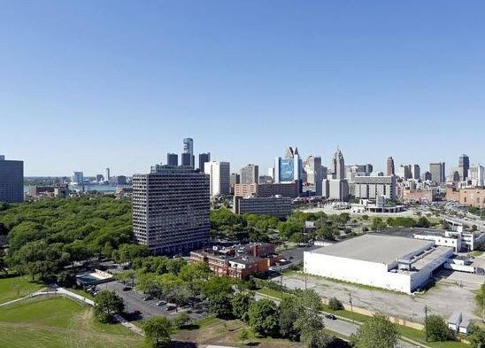 View of Detroit. Click to view the photo gallery.