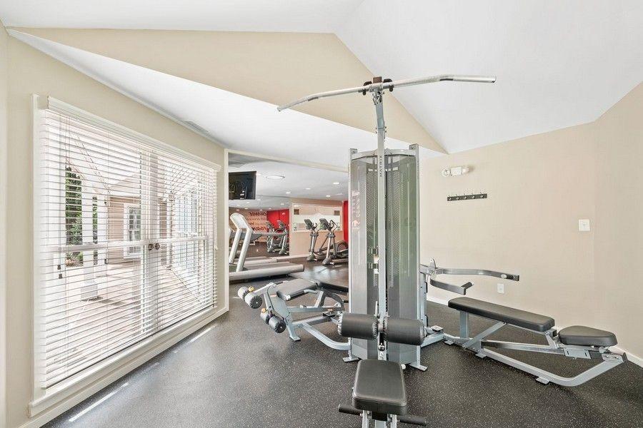 fitness center weight machine