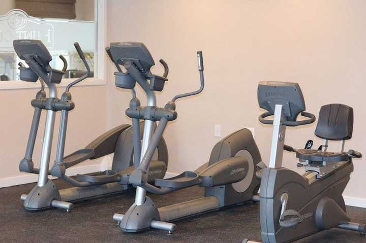 fitness center, stationary bikes. Click to view the full size image.