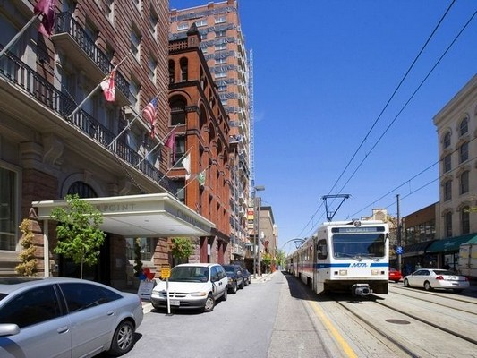 Outside view of apartment building. Click to view the photo gallery.