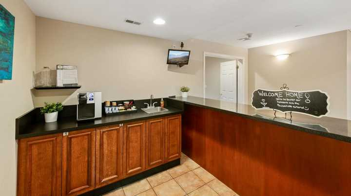 Coffee bar. Click to view the full size image.