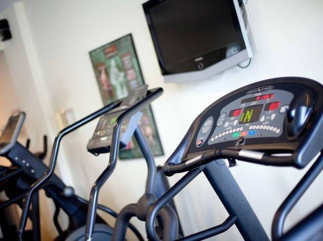 fitness center machines