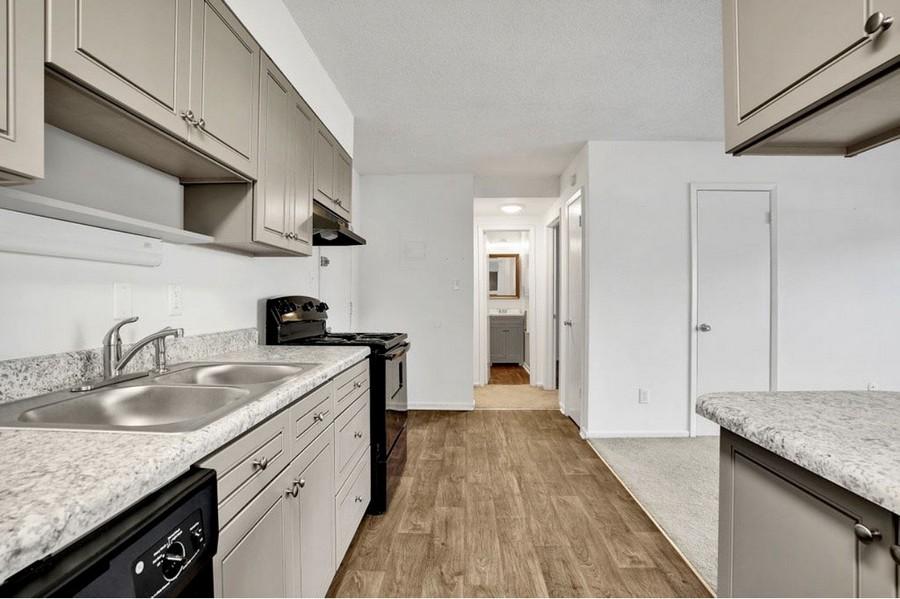 1 Bedroom Kitchen View