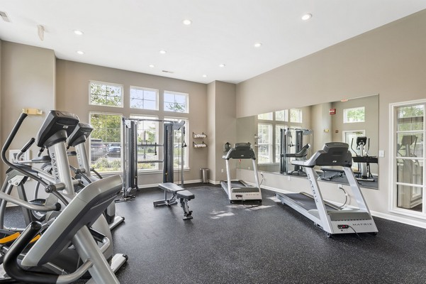 Cardio and strength equipment. Click to view the photo gallery.