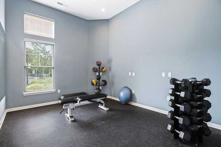Private Fitness room. Click to view the full size image.