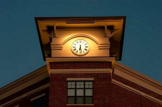 clock tower on building