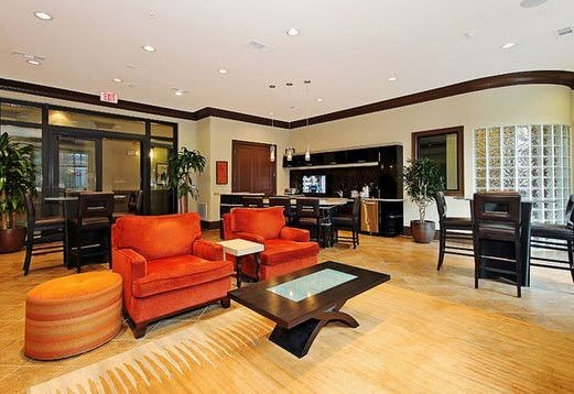resident lounge area
