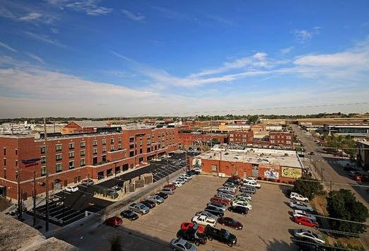 aerial view of parking. Click to view the photo gallery.