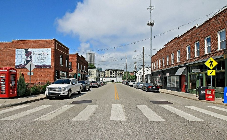 Street view of Downtown Tulsa