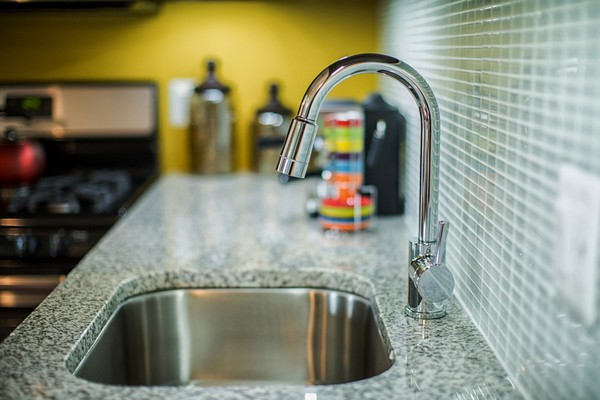 sink in kitchen. Click to view the photo gallery.
