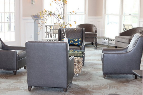 Chairs in lobby. Click to view the photo gallery.