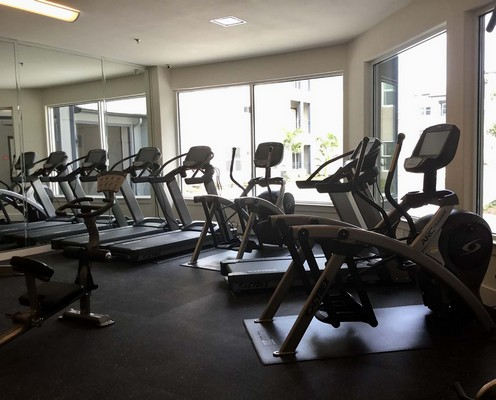 Fitness center with cardio and strength equipment. Click to view the photo gallery.