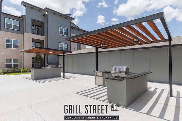 Outdoor grilling stations. Click to view the photo gallery.