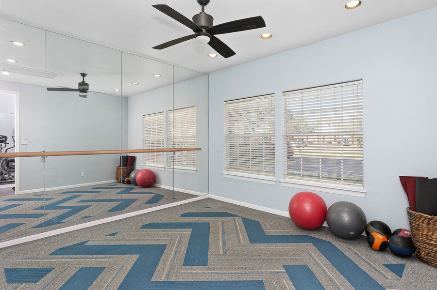 Yoga Room in our Fitness Center