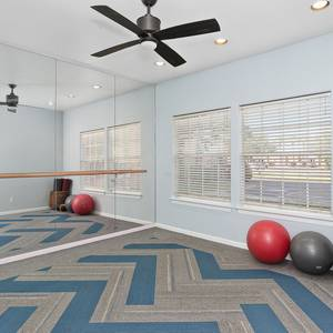 Yoga Room in our Fitness Center. Click for photo gallery.