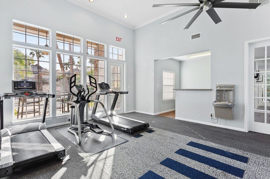 Cardio Machines in our Fitness Center.