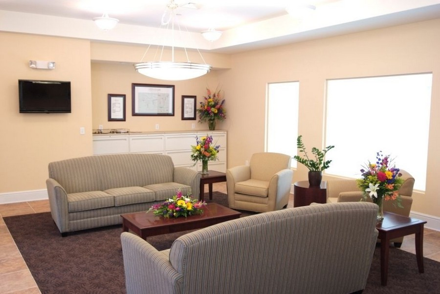 Common area with couches